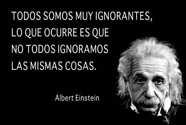 todos somos ignorantes